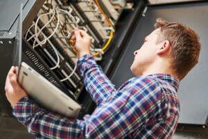Netzwerktechnik Hausinstallation